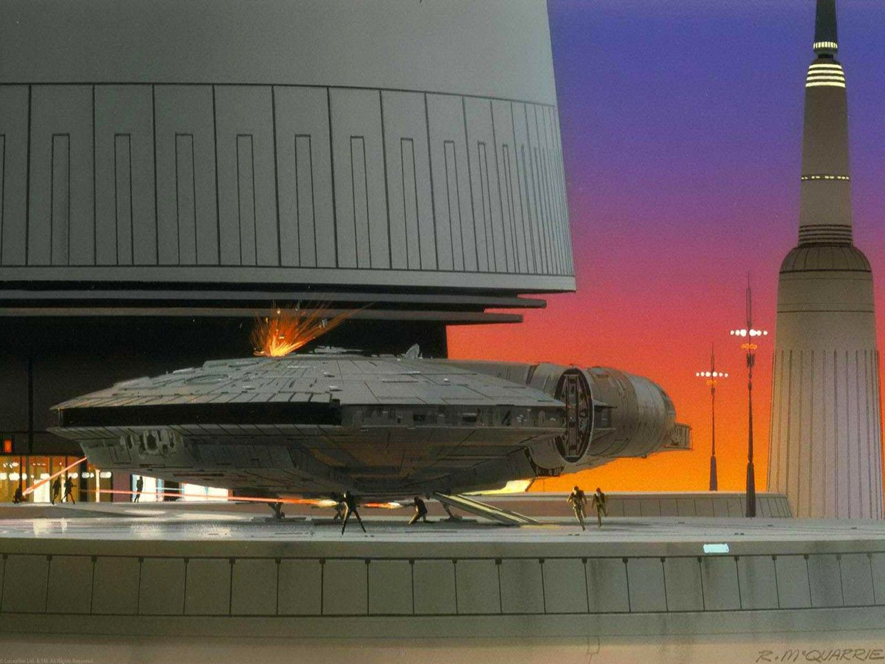 Making Of Empire Strikes Back 1980 Album 4 Of 4 In 2020 Star Wars Concept Art Ralph Mcquarrie Star Wars Painting