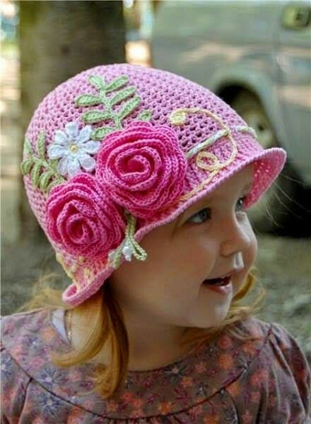 Panamahut für Mädchen | Stricken und häkeln | Pinterest | Mädchen ...