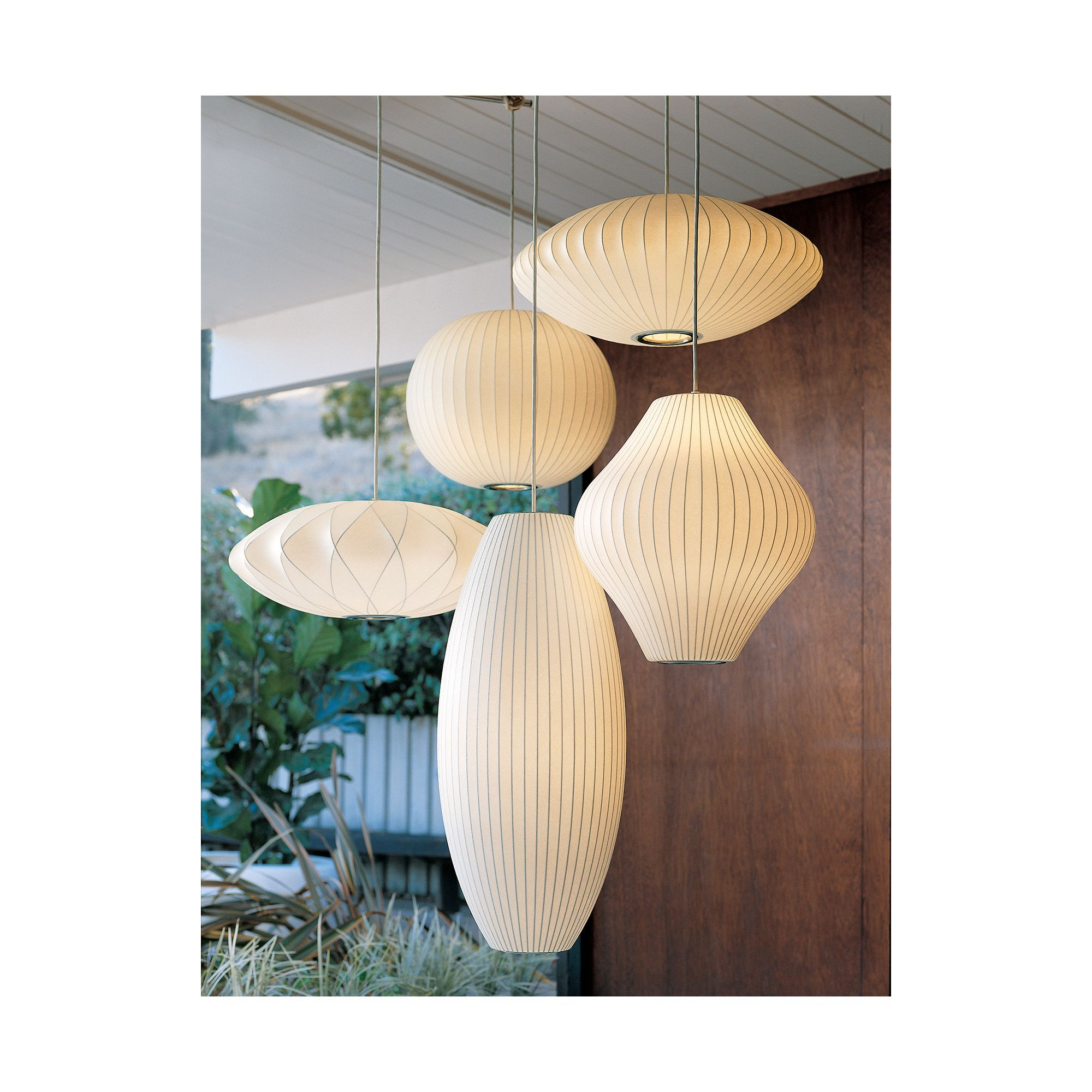 Nelson Saucer Crisscross Bubble Pendant Design Within Reach In 2020 George Nelson Bubble Lamp Nelson Bubble Lamp Bubble Lamps