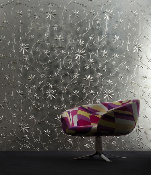 Amazing 3D wall material. Check out the 'garden' surface of art. Avail in Italy - I'm making a trip abroad online today.