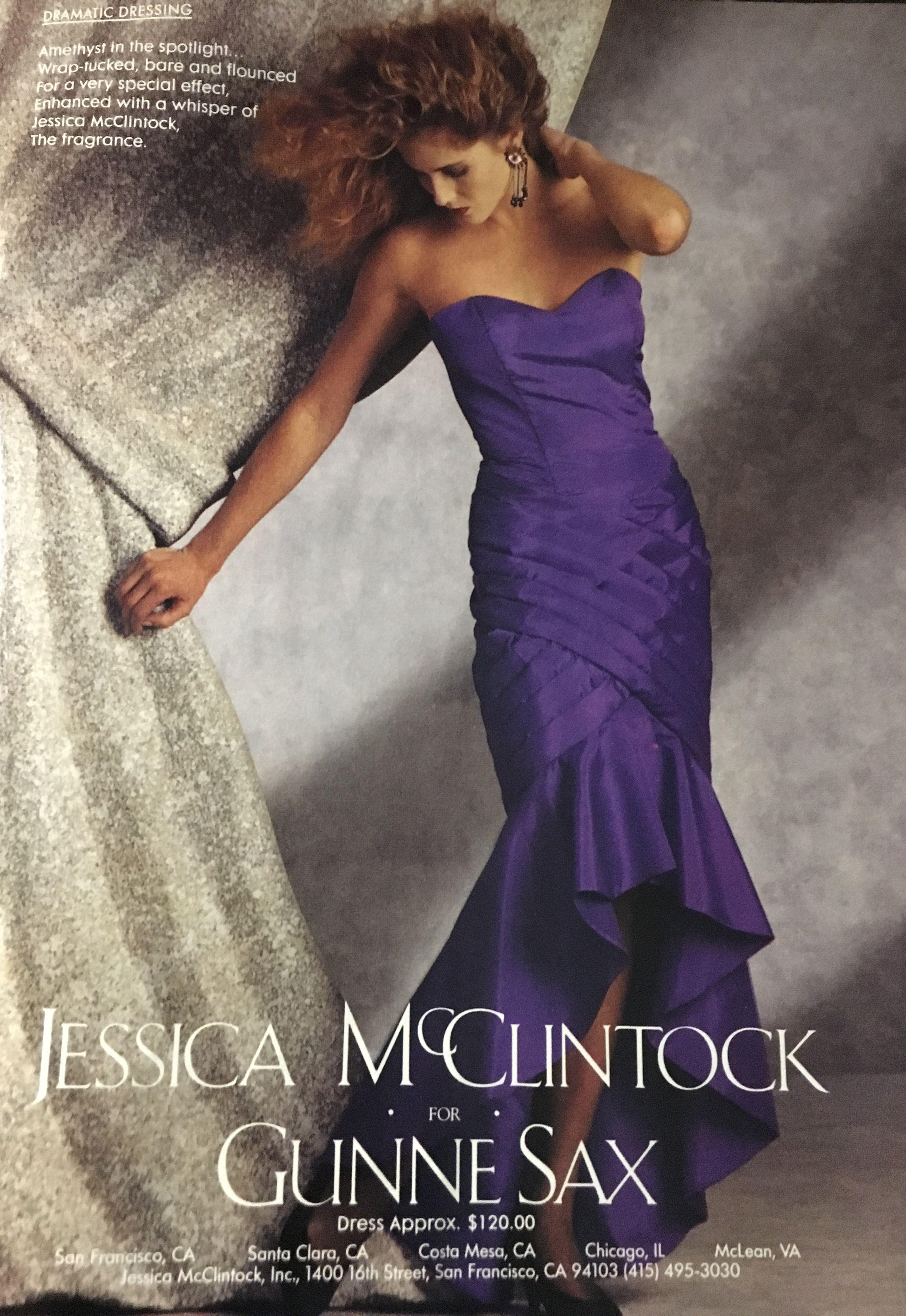 Gunne sax seventeen magazine march 1989. Jessica McClintock | Prom ...