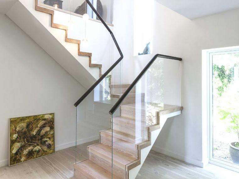 escaleras minimalistas de interior Arquitectura Pinterest