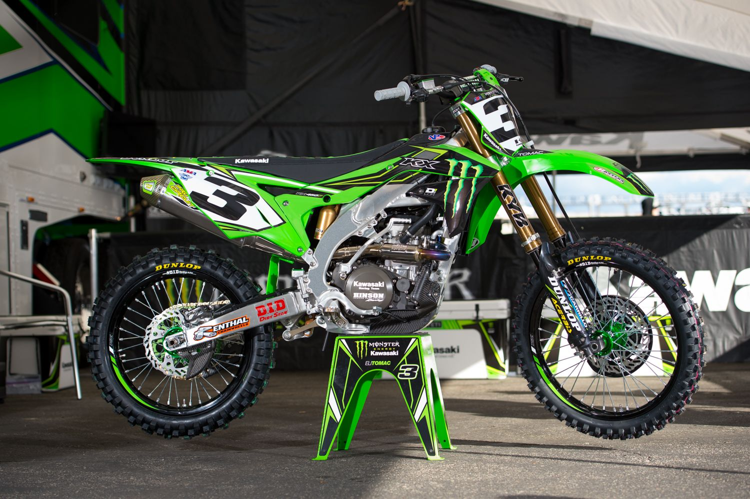 Kawasaki Kx 450f Team Monster Energy Kawasaki Supercross