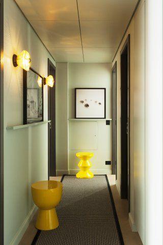 Un couloir vert d\'eau tel un couloir d\'hôtel   1314   Pinterest ...