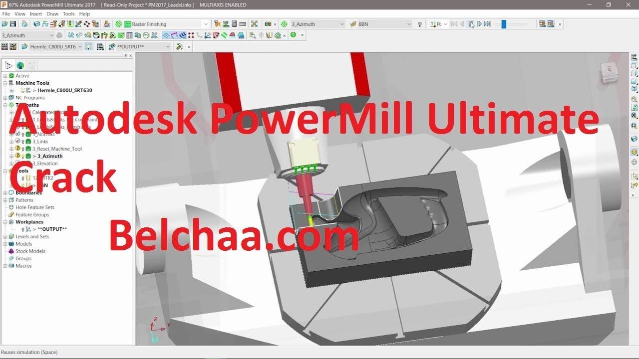 Autodesk PowerMill Ultimate 2019 Crack Free Download New
