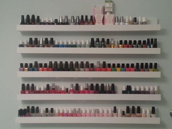 Idees De Rangement Vernis A Ongles Ma Collection Maquillage Cynthia Rangement Vernis Rangements Maquillage Rangement Pour Vernis A Ongles