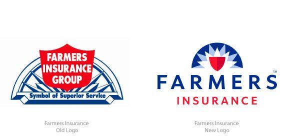 Farmers Insurance Redesigns Logo Logo Design Farmers Insurance