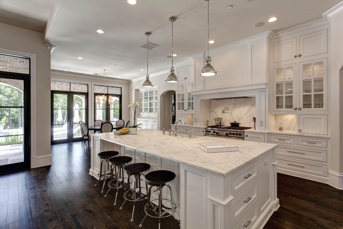 Kitchens dining areas custom home builder luxury for Kitchen designs and more