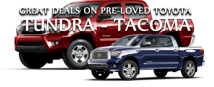 Great Deals on Used Toyota Tundra Used toyota