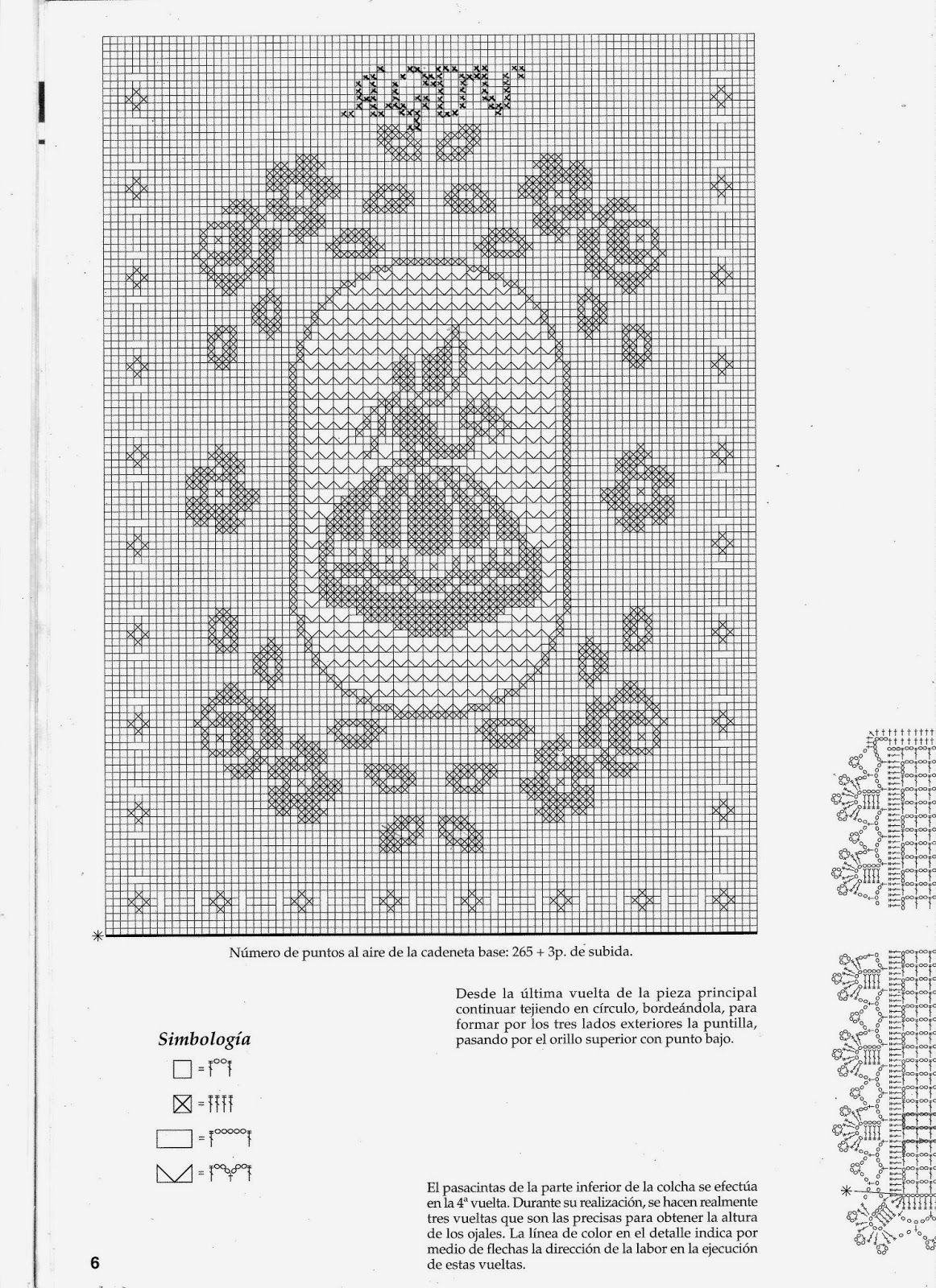 Es una manta en crochet o ganchillo muy elegante para completar el ...