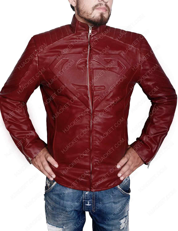 Superman Smallville Jacket Leather jacket, Jackets, Superman