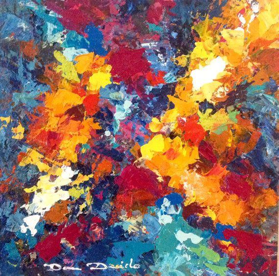 Peinture abstaraite originame huile art moderne art for Art contemporain moderne