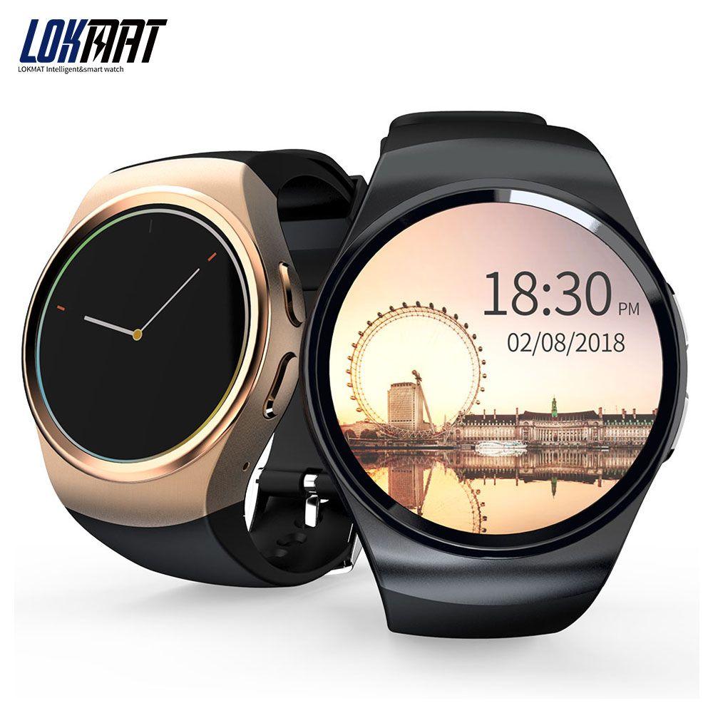 LOKMAT Smartwatch Heart Rate Monitor Sport Pedometer
