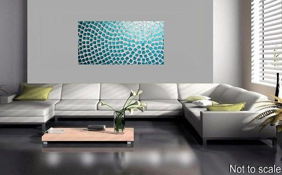 Painting Abstract Art Wall Art on large Canvas by acrylkreativ