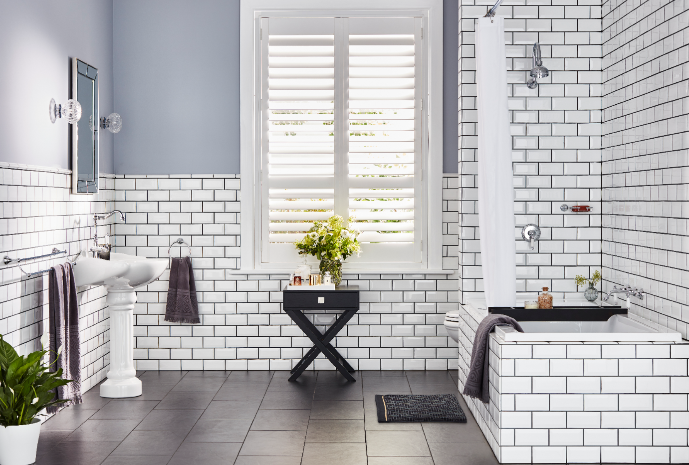 Heritage Bathroom Design Achieved With The Maestro Range From Mondella Bunnings Bunningsbathroom Sub Bathroom Collections Bathroom Design Heritage Bathroom