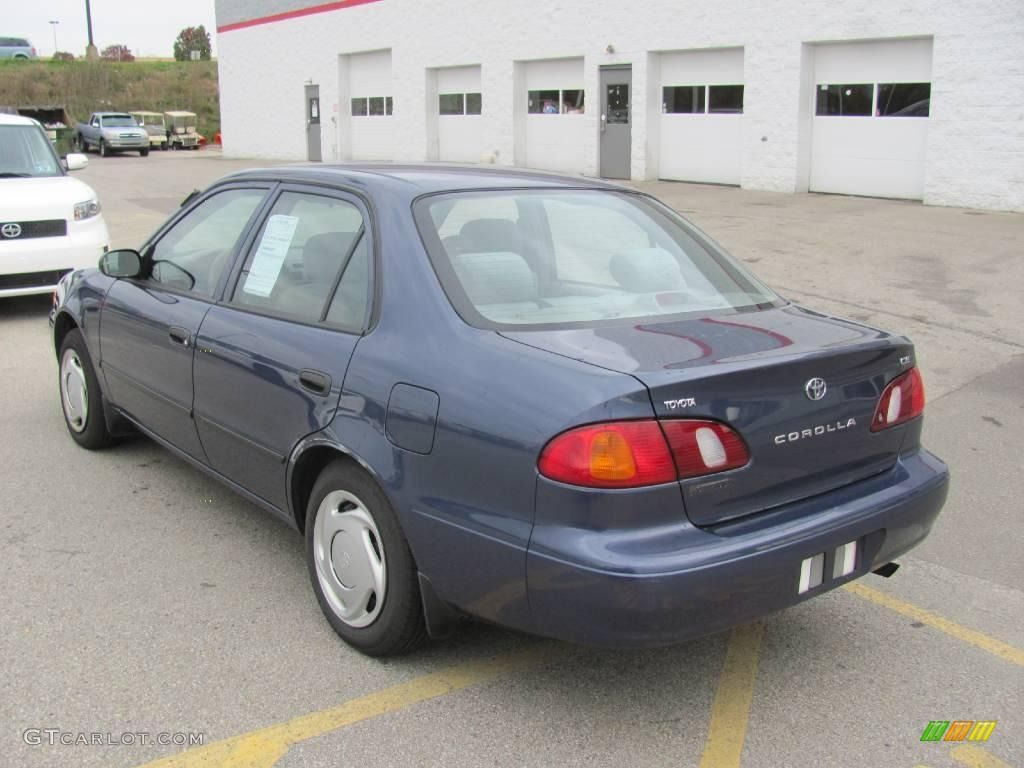 2000 Corolla Ce Twilight Blue Pearl Light Charcoal Photo 3 Toyota Corolla Car Colors Corolla