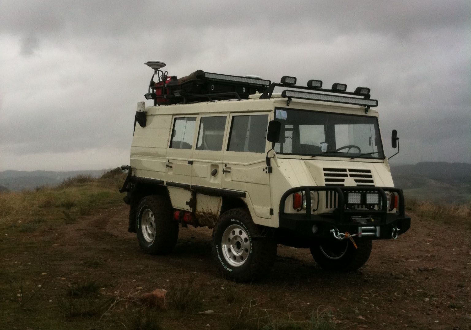The Pinzgauer from Thor a personal favorite