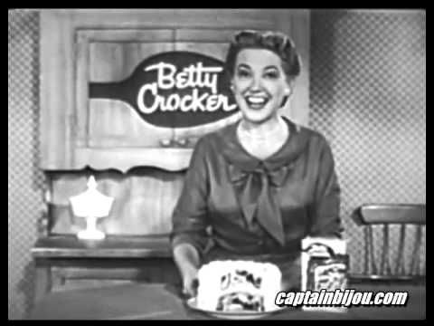 РезÑлÑÐ°Ñ Ñ Ð¸Ð·Ð¾Ð±Ñажение за betty crocker old commercial