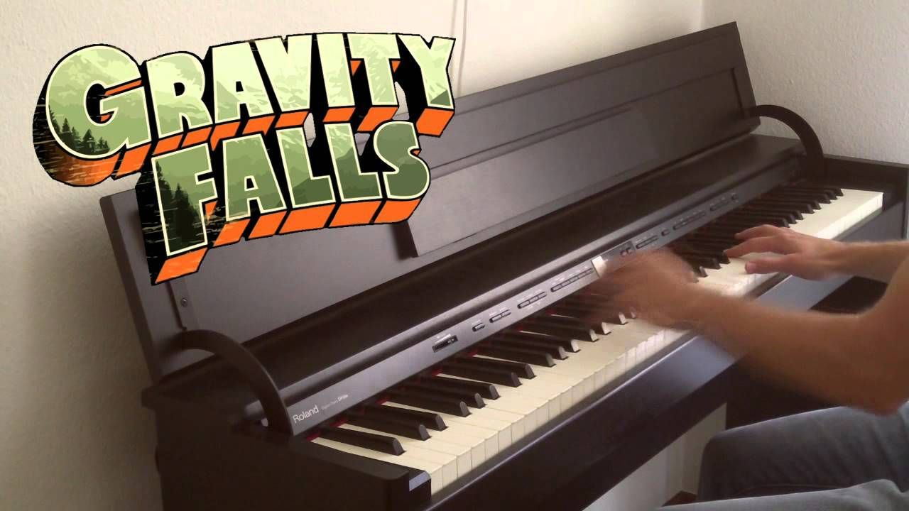 Gravity Falls Main Theme Finale Piano Cover Thepandatooth