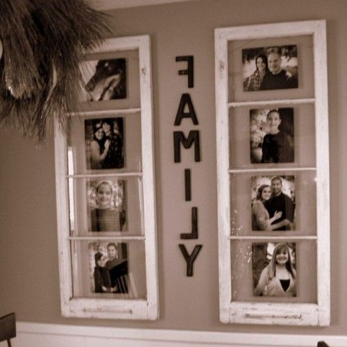 DIY Home Decor With Simple Vintage Styled Floating Collage Picture ...