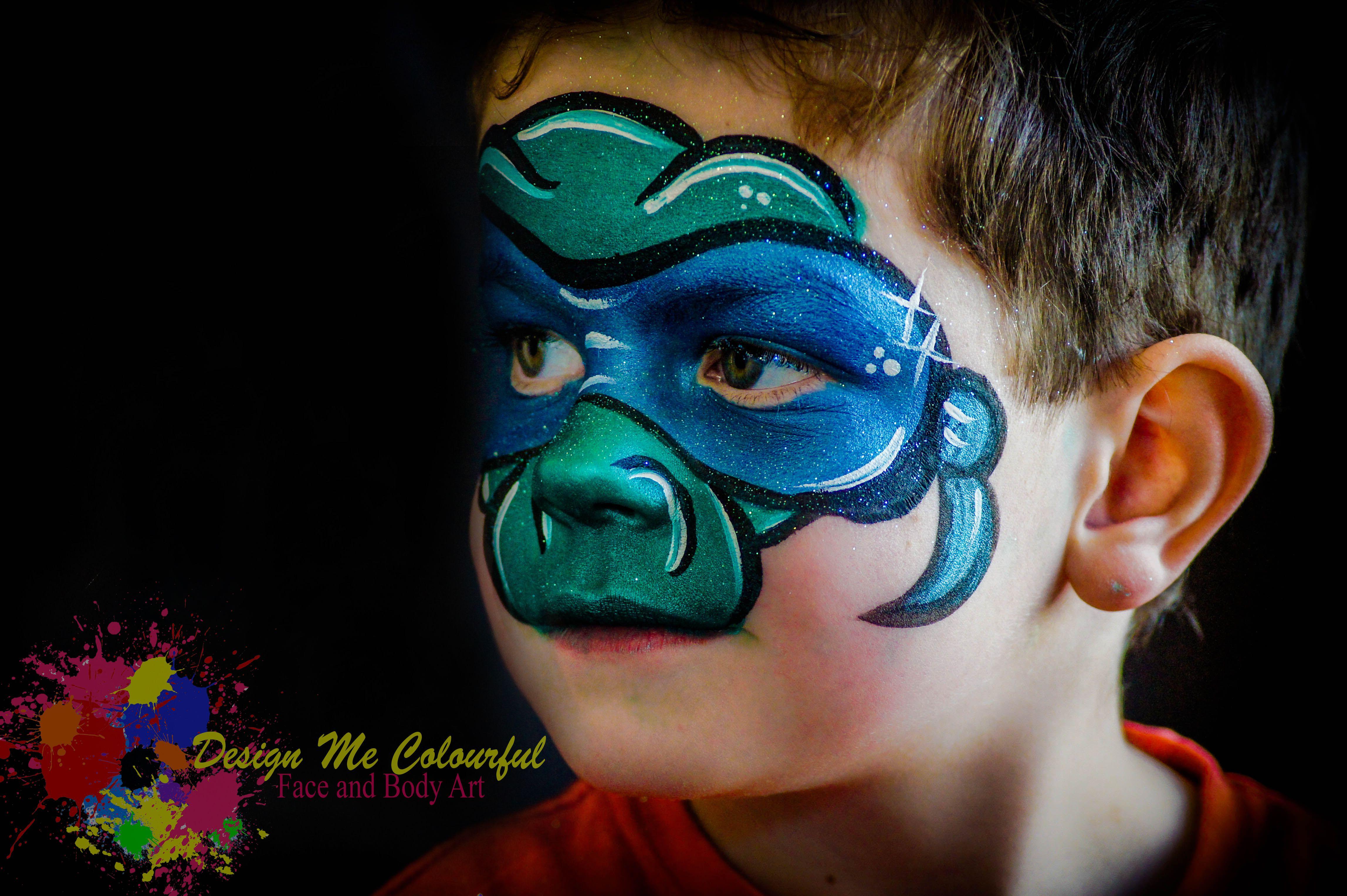 Ninja Turtle Face Paint Leonardo Teenage Mutant Ninja ...
