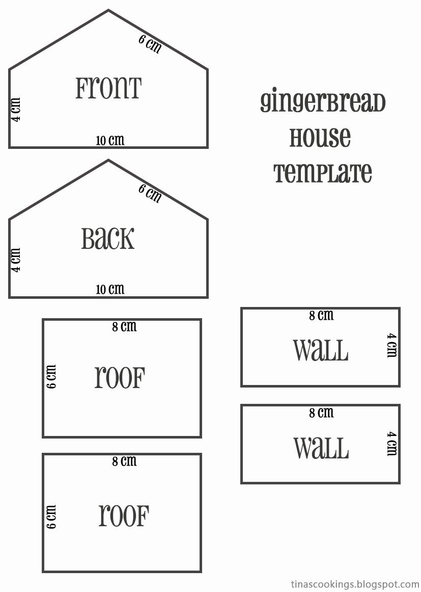 16 Gingerbread House Plans Free in 2020 | Gingerbread ...
