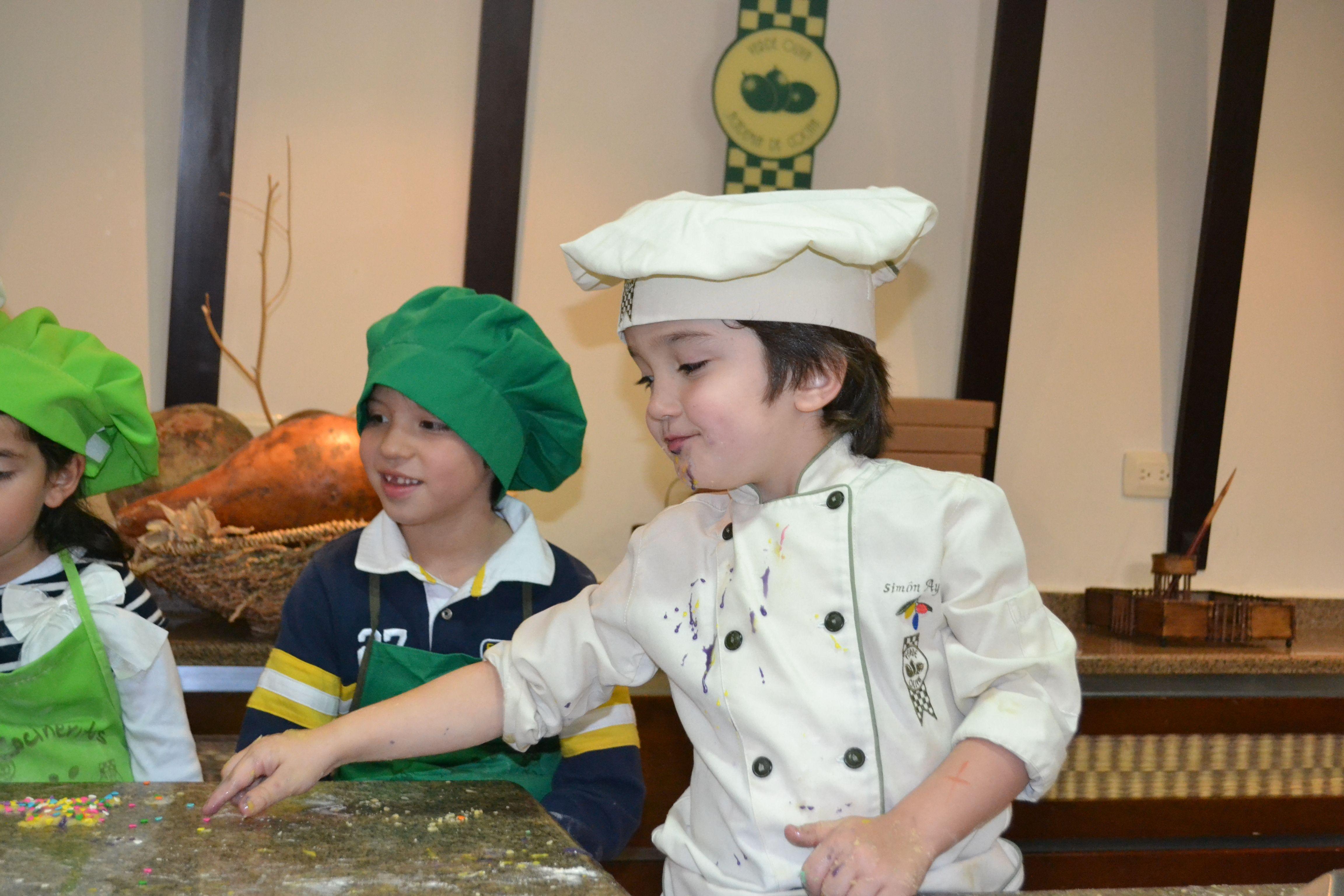 Curso Ninos Academia De Cocina Verde Oliva Noticias Caracol