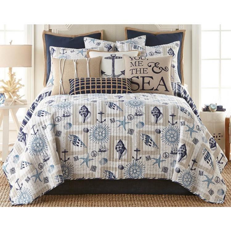 Saltwater Home Morro Bay Quilt Set Bealls Florida Coastal Bedrooms Coastal Bedding Home