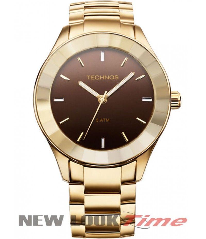 Relógio TECHNOS Elegance Crystal 2035LNG 4M R  429,00   Relógios ... 8f306c2c09