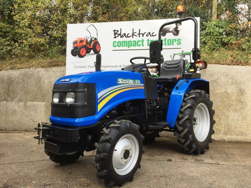 Brand New Solis 20hp 4wd Compact Tractor Small Tractor Mitsubishi Engine Small Tractors Compact Tractors Tractors