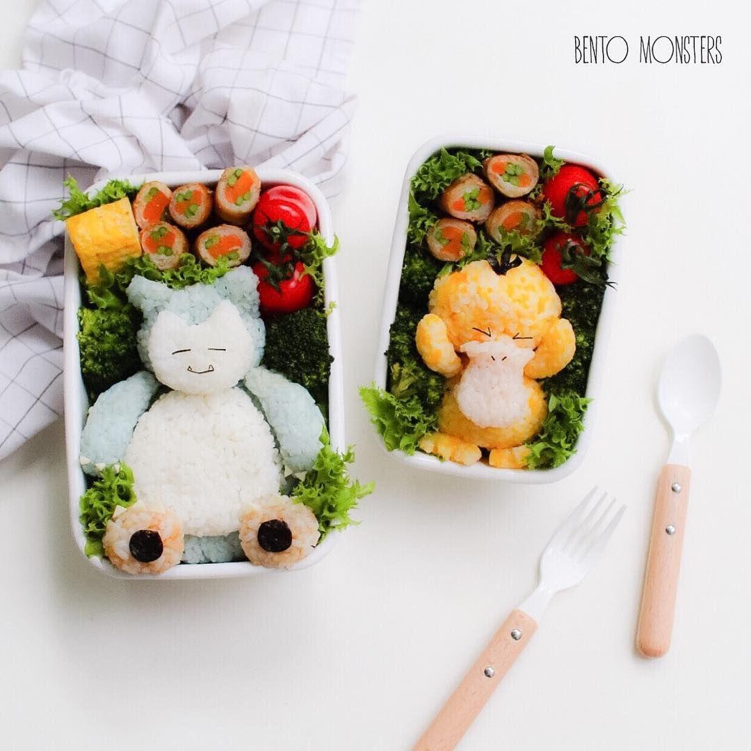 Mother Of Two Li Ming Has Created Astonishing Cartoon Creations Lunch Box. FunPalStudio Illustrations, Art, artwork, Artist, Entertainment, beautiful, creativity, food art, lunch box.