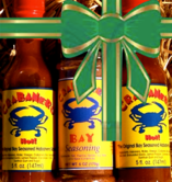 Crabanero Christmas Special Crabanero Christmas Special includes 2 bottles of Crabanero brand hot sauce and 1 jar of Crabanero Bay Seasoning all for just $19.99.   FREE SHIPPING thru December 31.     We ship USPS Priority Mail with tracking.   Delivery takes 1-3 days and we recommend having all Crabanero.com orders in by December 18 or 19 at the latest to assure arrival before Christmas Day.