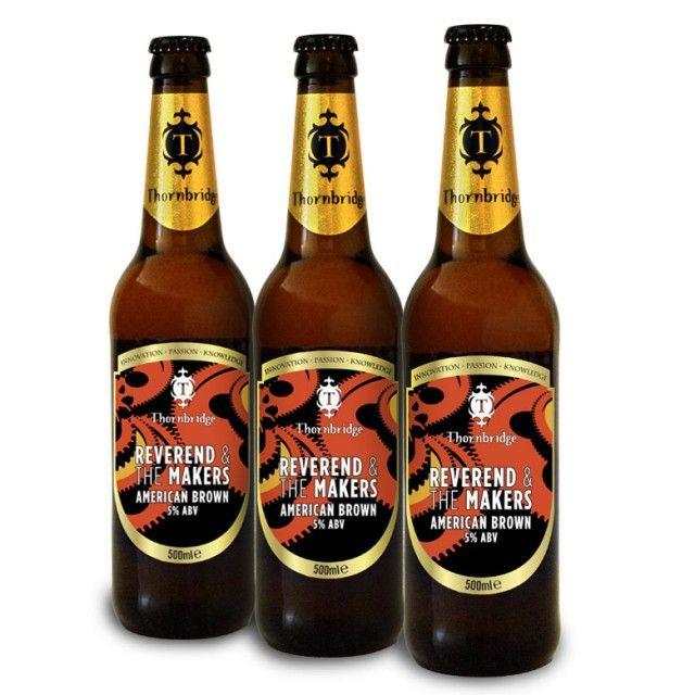 Top 10 Rock Band Beers Reverend & The Makers, American Brown