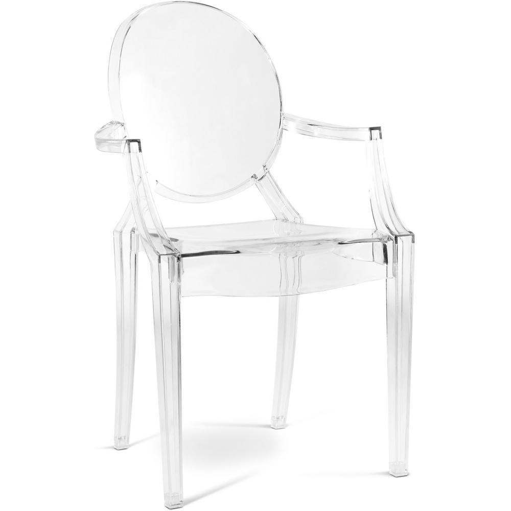 Fauteuil Louis Ghost De Philippe Starck fauteuil louis ghost philippe starck | fauteuil transparent