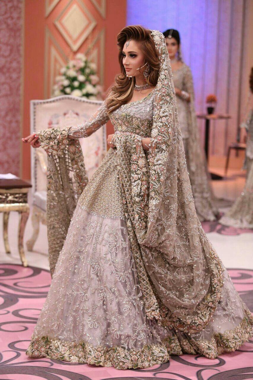 198642b50f Pakistani Frocks, Pakistani Bridal Dresses, Lehenga Skirt, Lehenga Blouse,  Asian Inspired Wedding