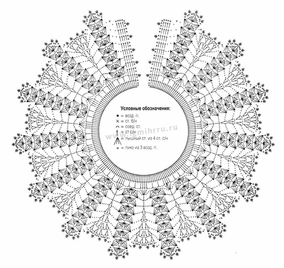 Pin de Tina MORGAN en Crochet | Pinterest | Cuello de ganchillo ...