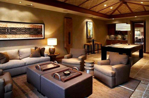 Captivating 17 Awesome African Living Room Decor