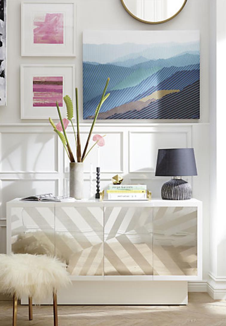 Sheepskin stool cb interior inspiration pinterest stools