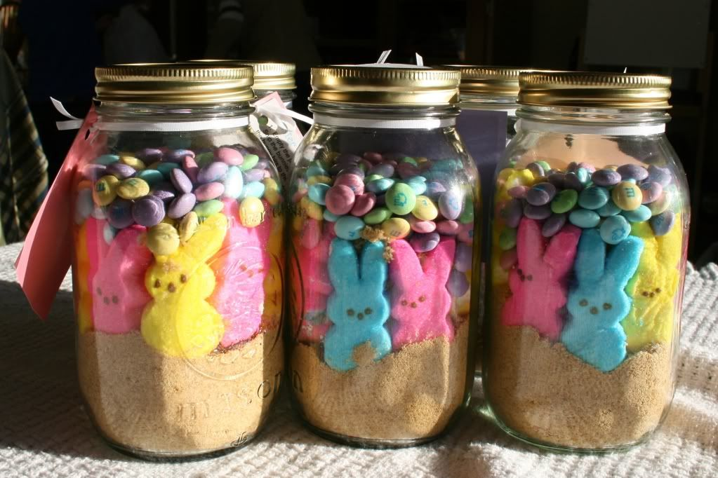 Lisas workshop peeps in a jar easter smores food ideas great teacher gift peeps in a jar easter smores negle Gallery