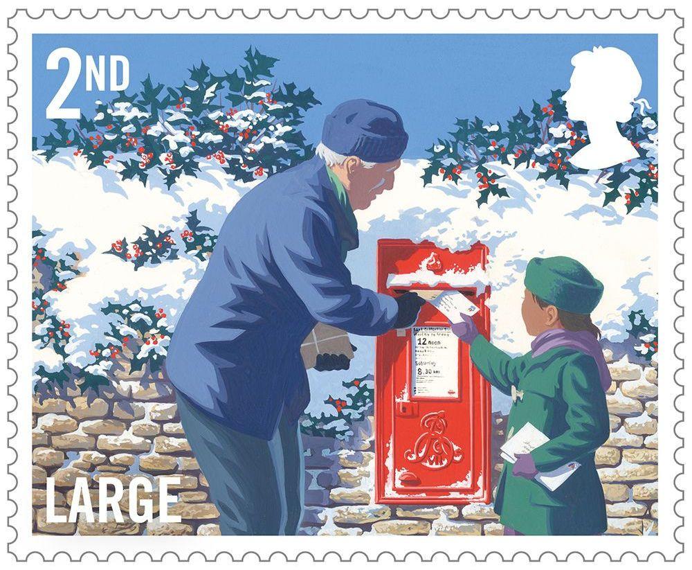 Christmas 2018 2018 collect gb stamps christmas