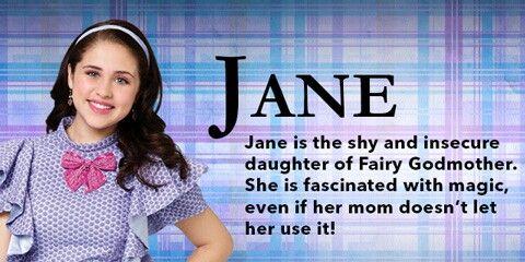 Jane Daughter Of Fairy Godmother Disney Descendants Disney