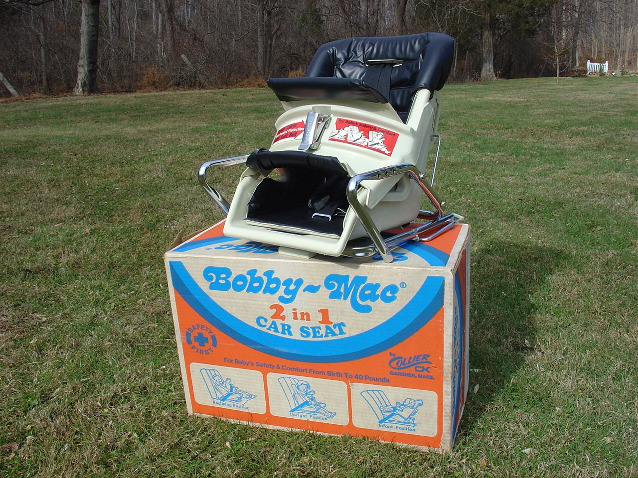 1978 bobby mac 2 in 1 mint in box vintage car seats. Black Bedroom Furniture Sets. Home Design Ideas