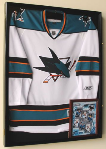 NHL Hockey Jersey Uniform Display Case Cabinet 98 UV L | eBay | Man ...