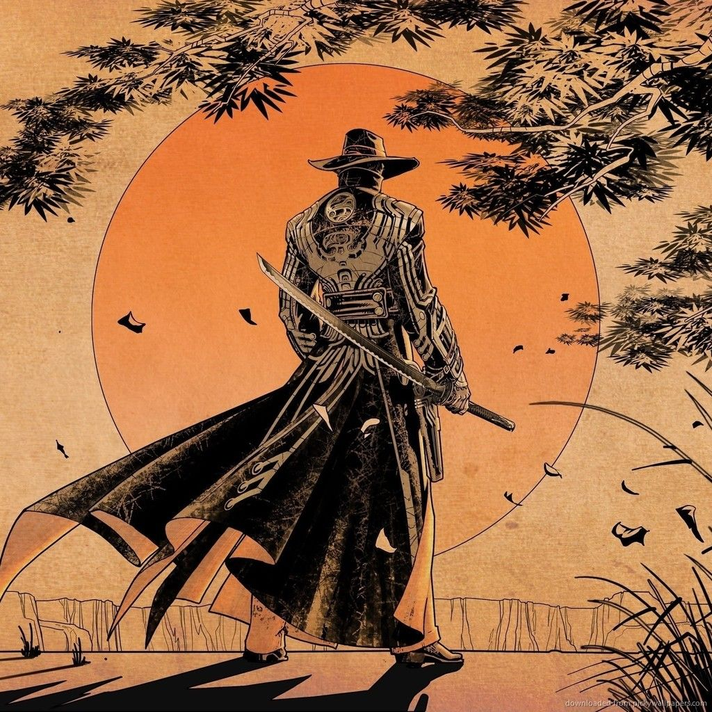 Female Samurai Art Wallpaper HD