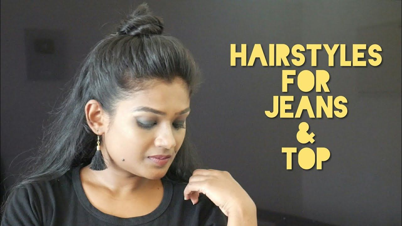 10 Easy Hairstyles for Jeans & TopEasy everyday College/School