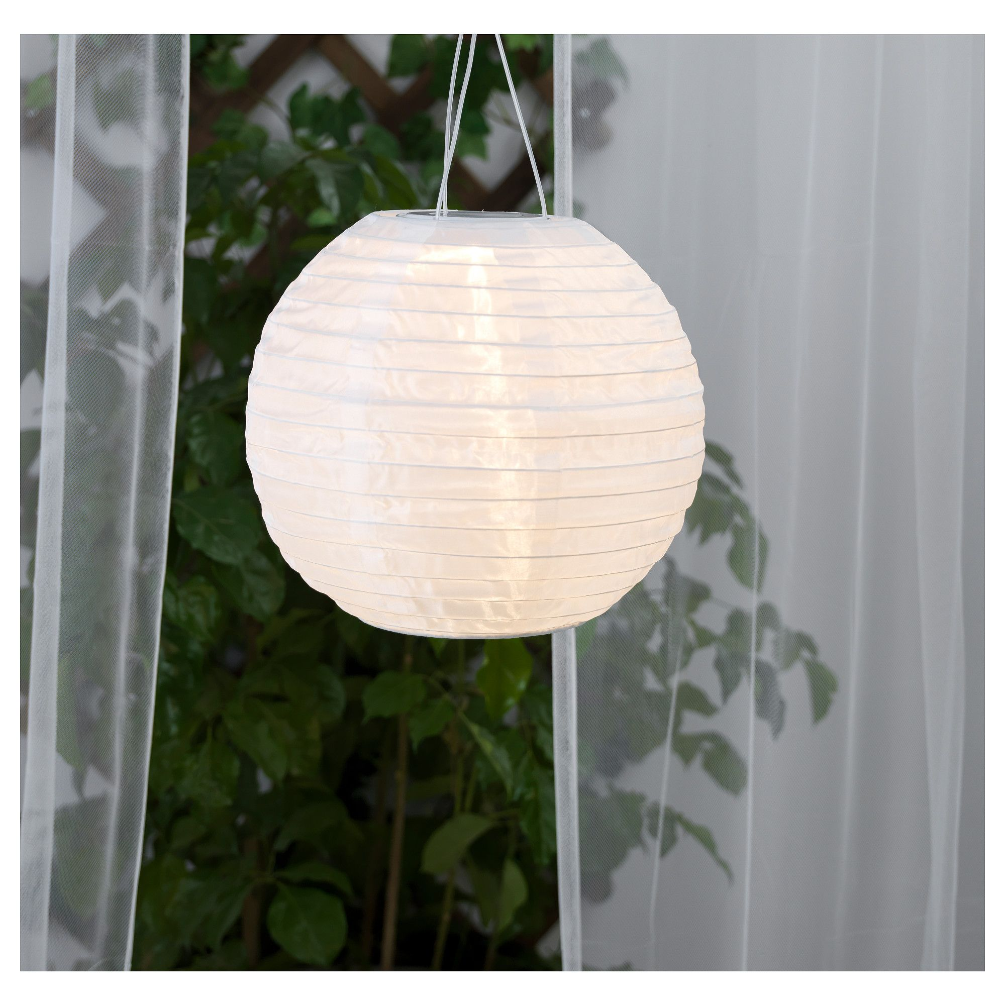 Lampe Pas Cher Ikea Solvinden Solar Powered Pendant Lamp Ikea Outdoors Pendant