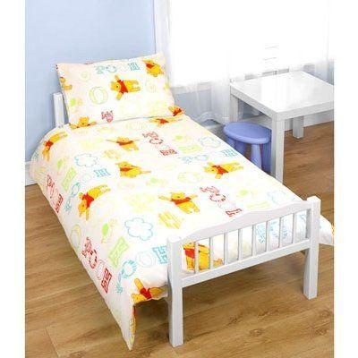 Kids/Childrens Unisex Disney Winnie The Pooh Junior Bed Quilt ... : junior bed quilt - Adamdwight.com