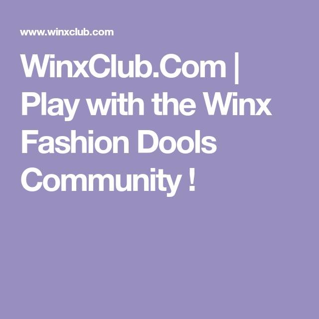 Winxclub Com Play With The Winx Fashion Dools Community Play Community Avatar