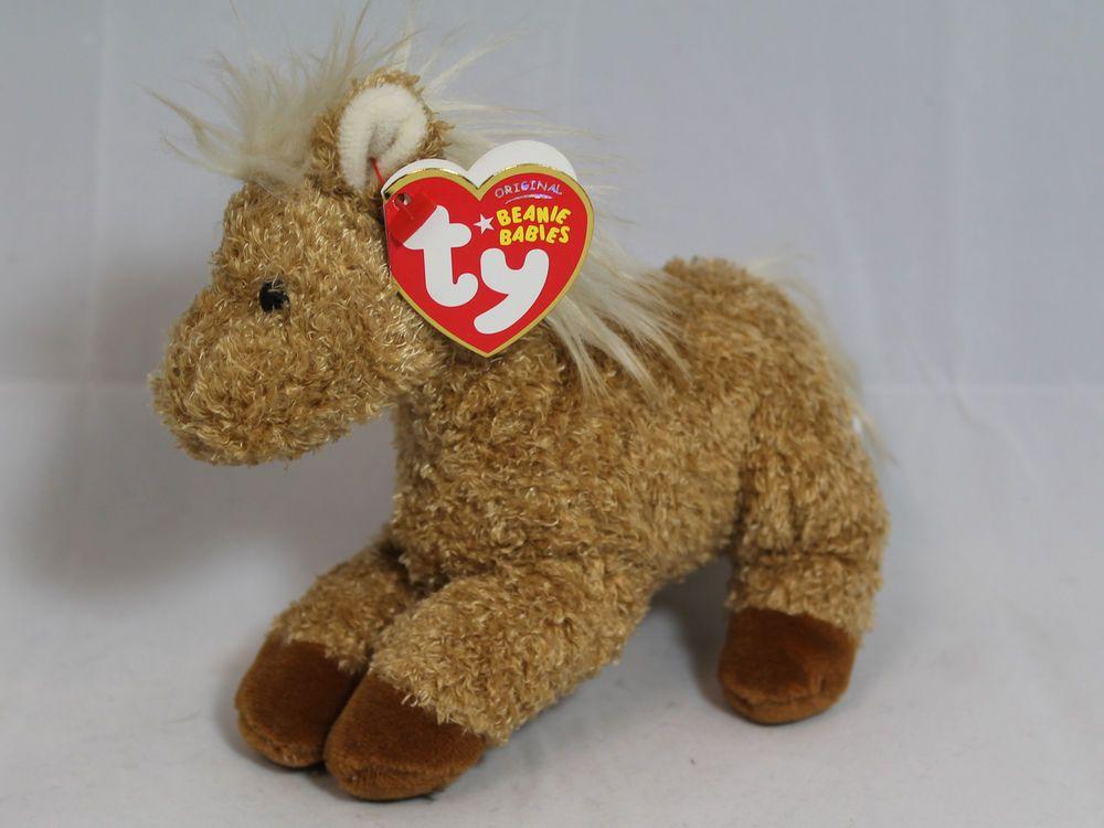 Ty Beanie Baby Barley - MWMT, Horse #TY #BeanieBaby