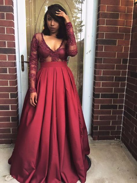 Pinterest Darlin J Prom Dresses Long With Sleeves Prom